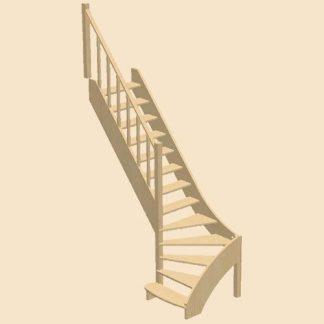 Лестница в сборе
