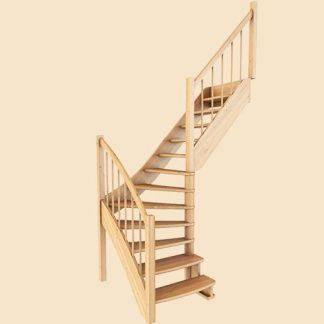 Деревянные лестницы в Рыбинске